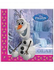 20 Servilletas Olaf Frozen™