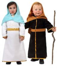 Disfraz de pareja José y María niños