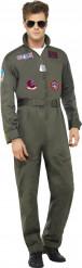 Disfraz piloto de linea de lujo Top Gun™ adulto