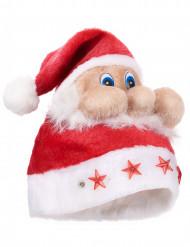 Gorro Papá Noel luminoso