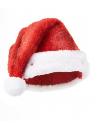 Gorro de Papá Noel rojo luminoso