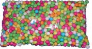Bolsa de 500 bolas multicolores