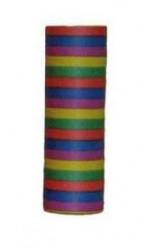 Rollo 18 serpentinas multicolores 6 m