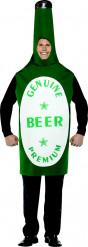 Disfraz botella de cerveza hombre