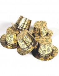 Sombrero de copa dorado Bonne Année