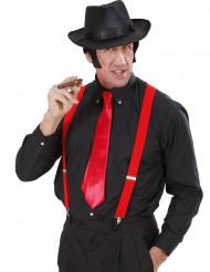 Corbata roja para adulto