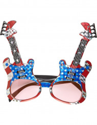 Gafas guitarra rock americano adulto
