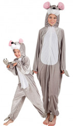 Disfraz de pareja ratón padre e hijo