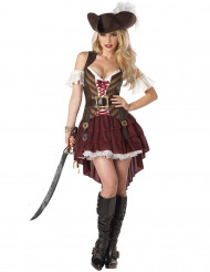 Disfraz pirata aventurera mujer