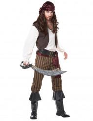 Disfraz de pirata adulto