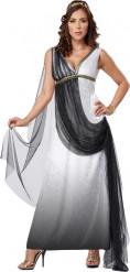 Disfraz de emperatriz romana de lujo adulto