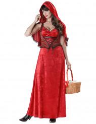 Disfraz de Caperucita roja adulto