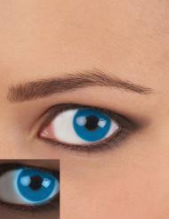 Lentillas de contacto UV azul adulto