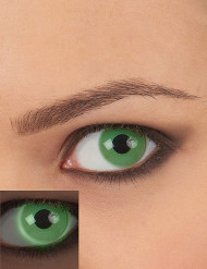 Lentillas de contacto UV verde adulto