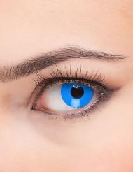 Lentes de contacto ojo azul