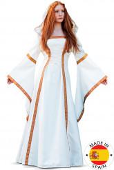Disfraz vestido medieval mujer  - Premium