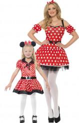 Disfraz de pareja ratón madre e hija