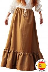 Falda campesina medieval mujer - Premium