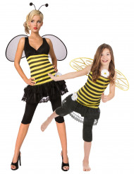 Disfraz de pareja abeja madre e hija