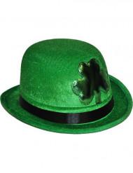 Sombrero verde con trébol San Patricio