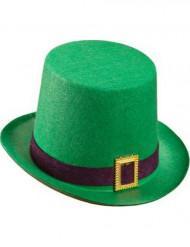 Sombrero de copa verde San Patricio