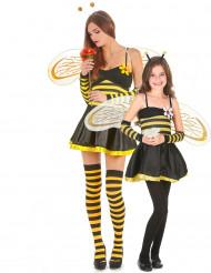 Disfraz pareja abeja madre e hija