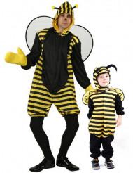 Disfraz de pareja abeja padre e hijo