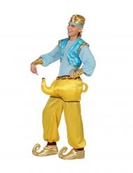 Disfraz humorístico genio de la lámpara adulto