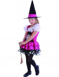 Disfraz de hada rosa niña