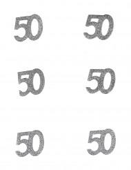 Confetis cumpleaños 50 años