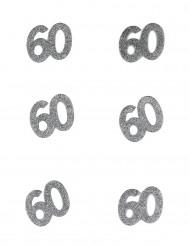 Confetis cumpleaños 60 años