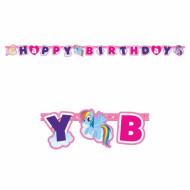 Guirnalda Happy Birthday Mi pequeño Pony™