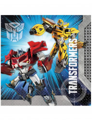20 Servilletas papel Transformers™ 33x33 cm