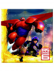 20 Servilletas papel Big Hero 6™ 33x33 cm