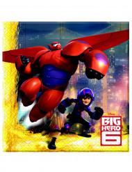20 Servilletas papel Big Hero 6™ 33x33 cm