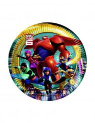 8 Platos pequeños Big Hero 6™ 19 cm