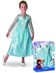 Disfraz de lujo luminoso y sonoro Elsa Frozen™ niña caja