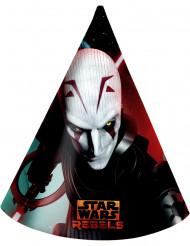 6 sombreros de fiesta Star Wars Rebels™