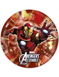8 platos 23 cm Los Vengadores™