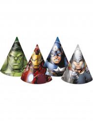 6 sombreros de fiesta Los Vengadores™