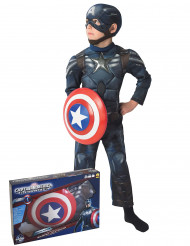 Disfraz Capitán America The Winter Soldier™ niño caja
