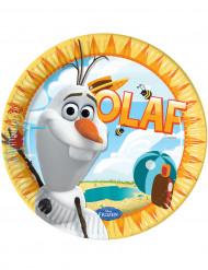 8 Platos cartón Olaf™ 23 cm