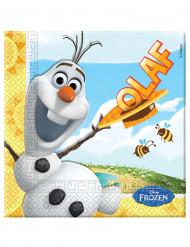 20 Servilltas papel Olaf™ 33x33 cm