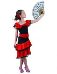 Disfraz de flamenco niña