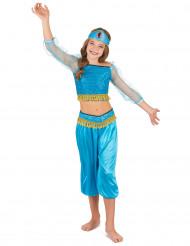 Disfraz bailarina oriental azul niña