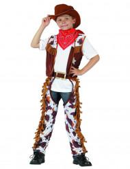 Disfraz cowboy Oeste niño