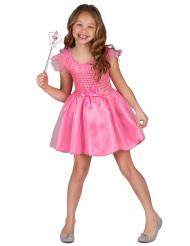 Disfraz de princesa rosa niña