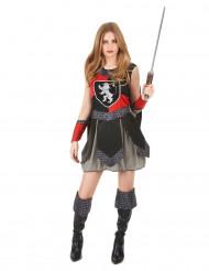 Disfraz caballero medieval mujer