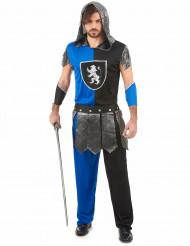 Disfraz de caballero azul hombre