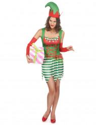 Disfraz elfo mujer